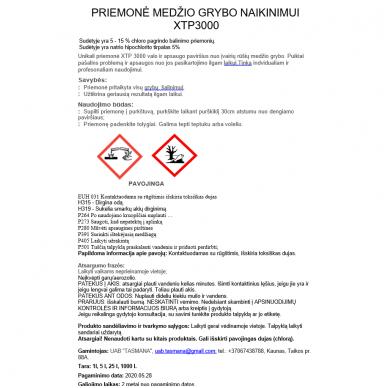 Priemonė medžio grybo valymui ir apsaugai XTP3000 5L 2