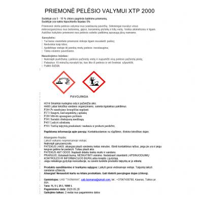 Priemonė pelėsio valymui XTP 2000 1L 2