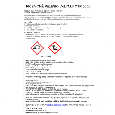 Priemonė pelėsio valymui XTP 2000 5L 2