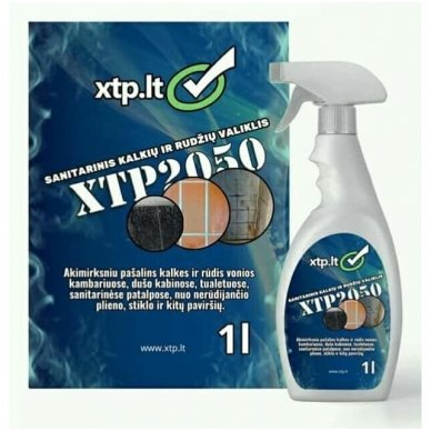 Sanitarinis kalkių ir rudžių valiklis XTP 2050 1L