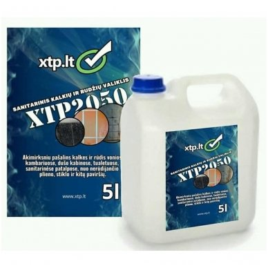 Sanitarinis kalkių ir rudžių valiklis XTP 2050 5L